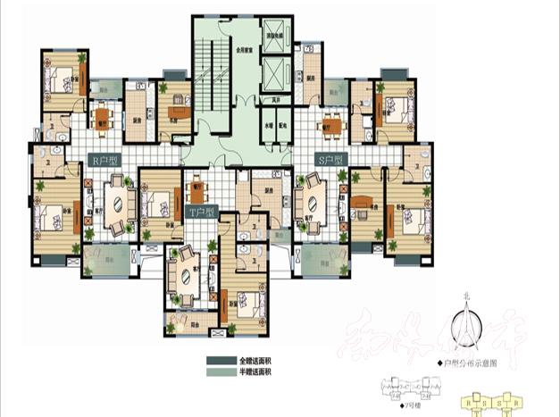 jpg  户型名称: r/t/s    户型结构: 三房/二房二厅双卫双阳台   户型